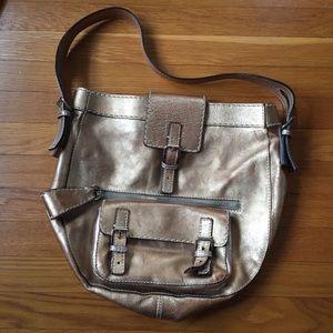 Chloe Edith Metallic Hobo Bag